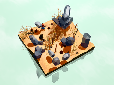 Miegakure (Hide and Reveal): A 4D puzzle-platforming game